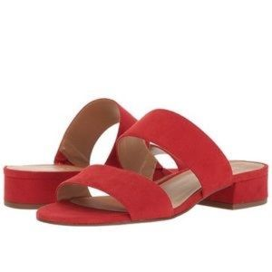 Franco Sarto Slip On Sandals Silas Two Strap Silde